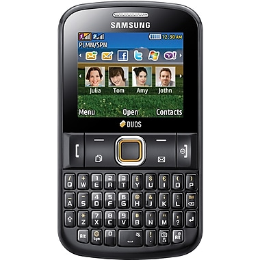 Samsung Ch@t 220 E2220 Unlocked GSM QWERTY Cell Phone, Gray