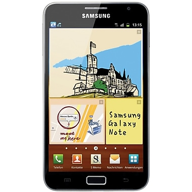 Samsung Galaxy Note N7000 Unlocked GSM Android Cell Phone, Blue