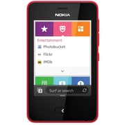 Nokia Asha 501 Unlocked GSM Touchscreen Cell Phone, Red