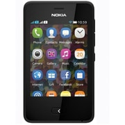 Nokia Asha 501 Unlocked GSM Touchscreen Cell Phone, Black
