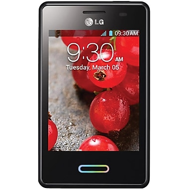 LG Optimus L3 II E425 Unlocked GSM Android Cell Phone, Black