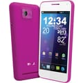BLU Vivo 4.3 D910a Unlocked GSM Dual-SIM Android Cell Phone, Pink