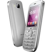 BLU Diva T272T Unlocked GSM Dual-SIM Cell Phone, Silver