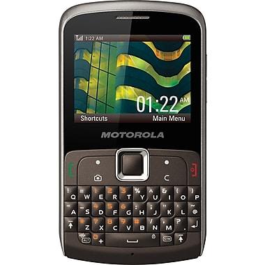Motorola EX112 Unlocked GSM QWERTY Cell Phone, Titanium
