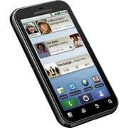 Motorola Deft MB525 Unlocked GSM Android Cell Phone, Licorice Black