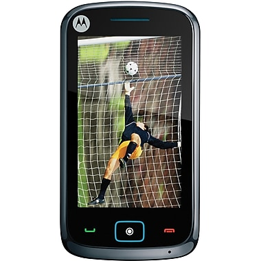 Motorola EX122 Unlocked GSM Cell Phone, Black