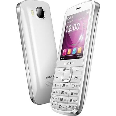 BLU Diva T272T Unlocked GSM Dual-SIM Cell Phone, White