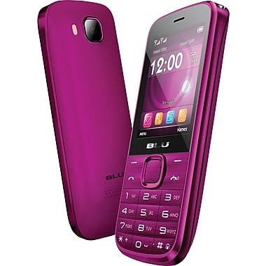 BLU Diva T272T Unlocked GSM Dual-SIM Cell Phone, Pink