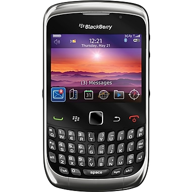 Blackberry Curve 3G 9300 Unlocked GSM OS 5.0 Cell Phone, Graphite