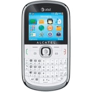Alcatel One Touch 871a Unlocked GSM QWERTY Cell Phone, White