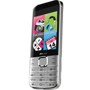 BLU Diva X T372T Unlocked GSM Dual-SIM Cell Phone, Silver