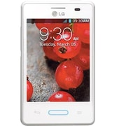 LG Optimus L3 II E425 Unlocked GSM Android Cell Phone, White