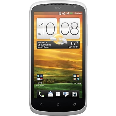 HTC One VX AT&T Unlocked GSM Android Cell Phone, White