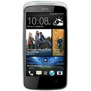 HTC Desire 500 Unlocked GSM Android Cell Phone, White/Blue