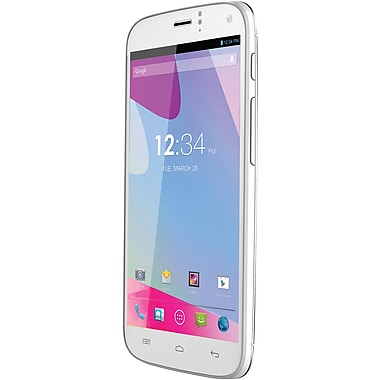 BLU Life One X L132L Unlocked GSM Dual-SIM Android Cell Phone, White