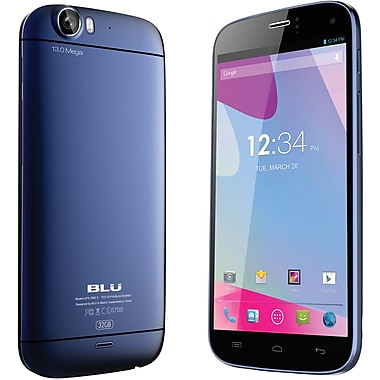 BLU Life One X L132L Unlocked GSM Dual-SIM Android Cell Phone, Black