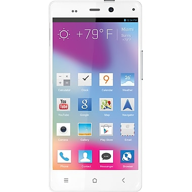 BLU Life Pure L240a 32GB Unlocked GSM Android Phone w/ 13MP Camera, White
