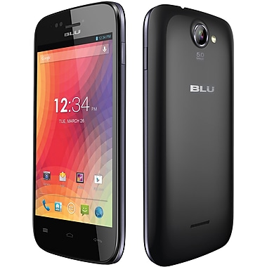 BLU Advance 4.0 A270a Unlocked GSM Dual-SIM Cell Phone, Black
