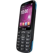 BLU Jenny TV 2.8 T176T Unlocked GSM Dual-SIM Cell Phone, Black/Blue
