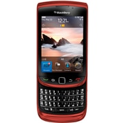 Blackberry Torch 9800 Unlocked GSM OS 6.0 Cell Phone, Red
