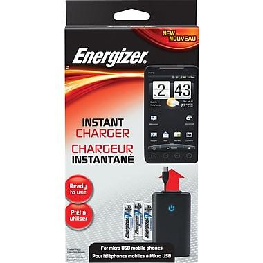 Energizer – Chargeur instantané pour téléphones cellulaires micro USB