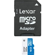 Lexar™ 300x micro SDHC/SDXC UHS-1 Memory Cards with Adapter