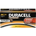 Duracell Coppertop Alkaline AA, 24/Pack