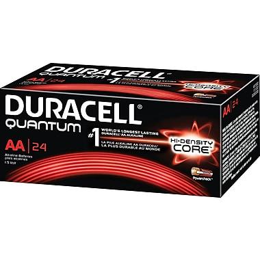 Duracell® Quantum AA Alkaline Batteries, 24/Box