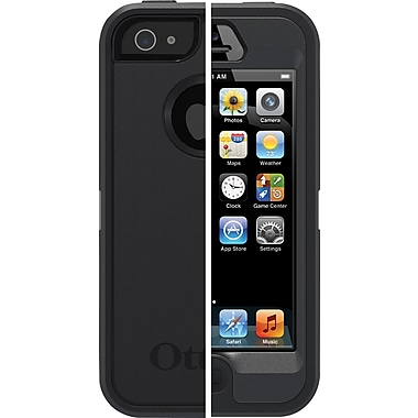 OtterBox Defender Series Case for iPhone 5/5s, Black