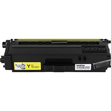 Brother Toner Cartridge, Yellow, High Yield (TN336Y)