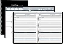 House of Doolittle™ 2015 Monthly, January-December, Meeting Planner, Blue/Black, 8 1/2' x 11'
