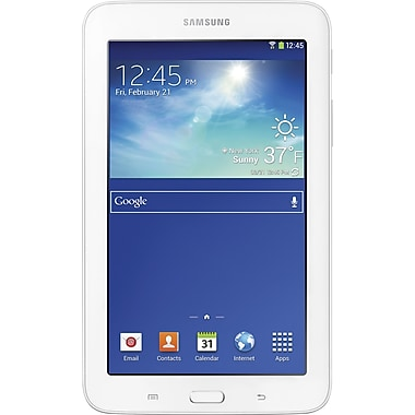 Samsung Galaxy Tab 3 Lite 7in., 8GB White Tablet