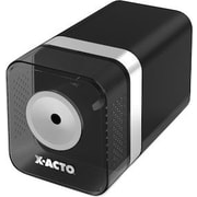 X-ACTO  Heavy-Duty Desktop Electric Pencil And Crayon Sharpener, Black
