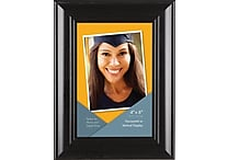 Victory Light 4' x 6' Wide Photo Frame, Dark Cappuccino