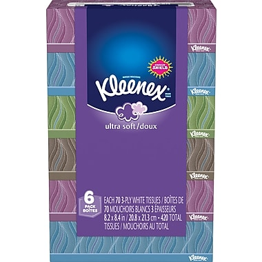 Kleenex® Ultra Soft Tissues