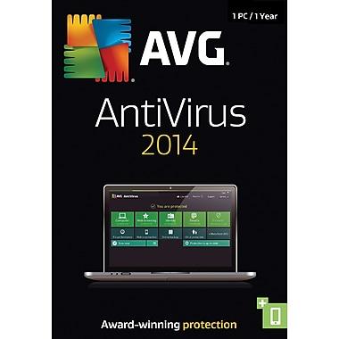 AVG AntiVirus 2014, 1 Year (1 User) [Boxed]