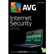 AVG Internet Security 2014, 1 Year (1 User) [Boxed]