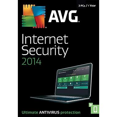 AVG Internet Security 2014, 1 Year (3 User) [Boxed]