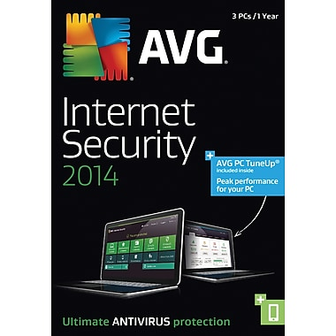AVG Internet Security+PCTuneUp 2014, 1 Year (3 User) [Boxed]
