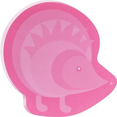 Post-it® Hedgehog-Shaped Die-Cut Memo Cube, 2 Pads/Pack