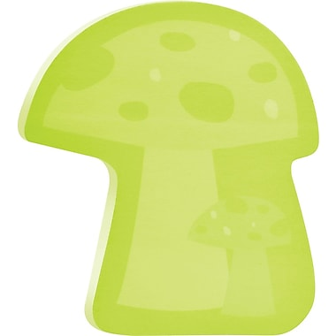 Post-it® Mushroom-Shaped Die-Cut Memo Cube, 2 Pads/Pack