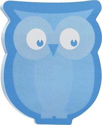 Post it Owl Shaped Die Cut Memo Cube 2 Pads Pack