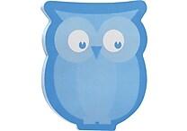 Post-it® Owl-Shaped Die-Cut Memo Cube, 2 Pads/Pack
