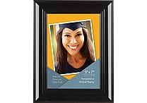Victory Light 5' x 7' Wide Photo Frame, Dark Cappuccino