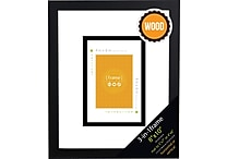 8' x 10' 3 - in - 1 Gallery Wood Frame, Black