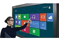 TouchIt Technologies 55' LED Duo Interactive Commercial Display (6 point touch)