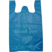 Plastic T-Shirt Bag, Thank You printed, Medium, 1,000/Pack