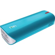 UNU 5000 mAh Enerpak Tube External Battery Pack with Emergency Flash Light for Smartphones Tablets, Blue