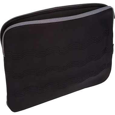 Targus 15.6in. Debossed Laptop Sleeve, Black