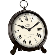 FirsTime® Station Pocketwatch Tabletop Clock, Black